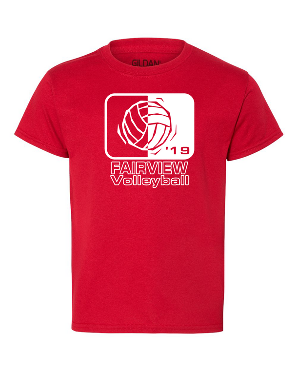 Fairview Volleyball 2019 Tee (Youth)