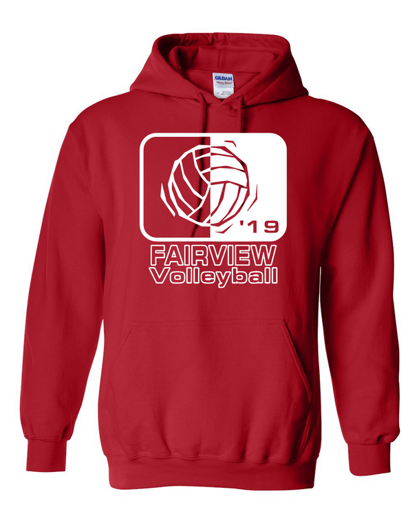 Fairview Volleyball 2019 Hoodie (Adult)