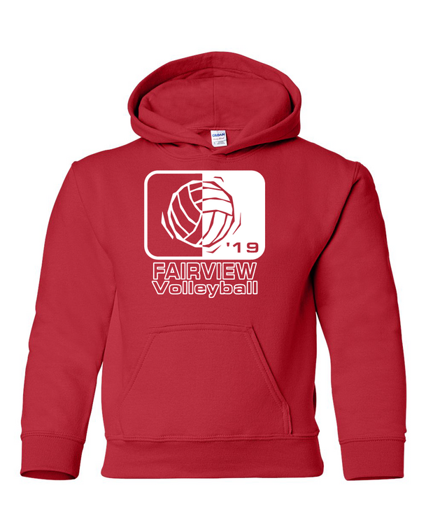 Fairview Volleyball 2019 Hoodie (Youth)