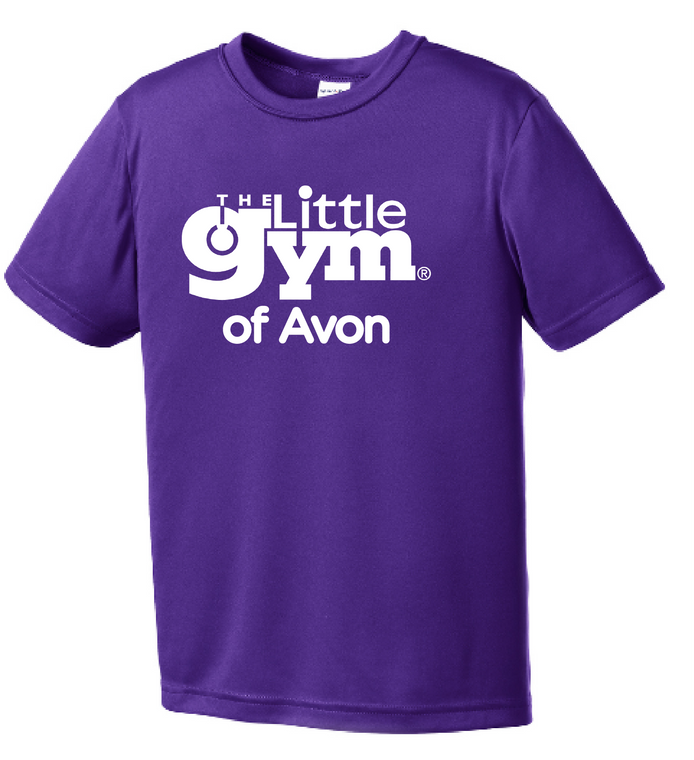 The Little Gym Performance Short Sleeve Tee (youth)
