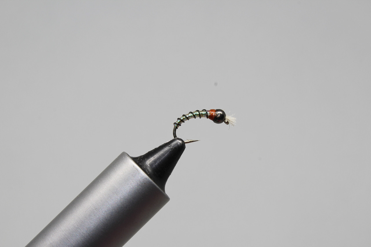 Hareline Chironomid Braid Fly Tying Silver