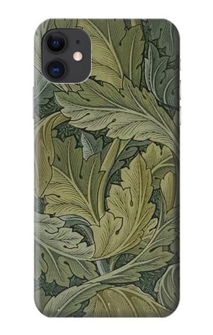 S3790 William Morris Acanthus Leaves Case For iPhone 11