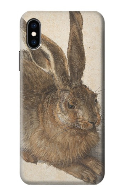 S3781 Albrecht Durer Young Hare Case For iPhone X, iPhone XS