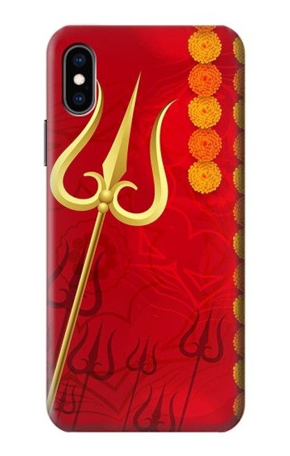 S3788 Shiv Trishul Case For iPhone X, iPhone XS