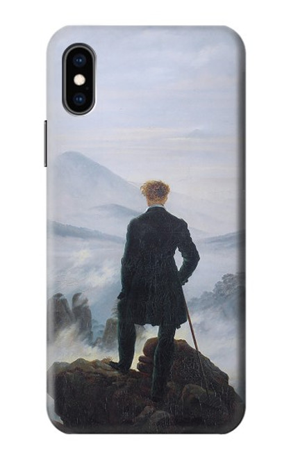 S3789 Wanderer above the Sea of Fog Case For iPhone X, iPhone XS