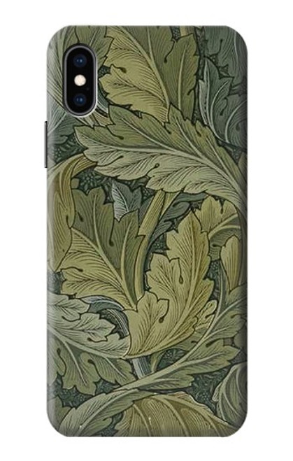 S3790 William Morris Acanthus Leaves Case For iPhone X, iPhone XS