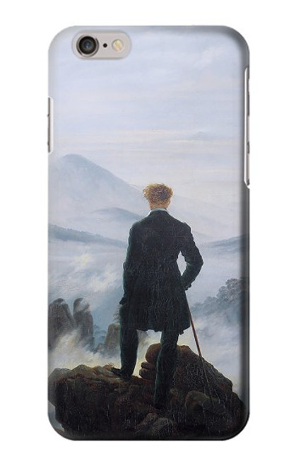 S3789 Wanderer above the Sea of Fog Case For iPhone 6 6S