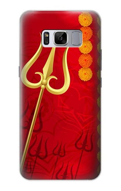 S3788 Shiv Trishul Case For Samsung Galaxy S8