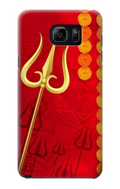 S3788 Shiv Trishul Case For Samsung Galaxy S6 Edge Plus