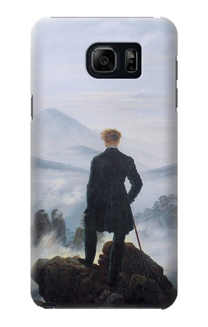S3789 Wanderer above the Sea of Fog Case For Samsung Galaxy S6 Edge Plus