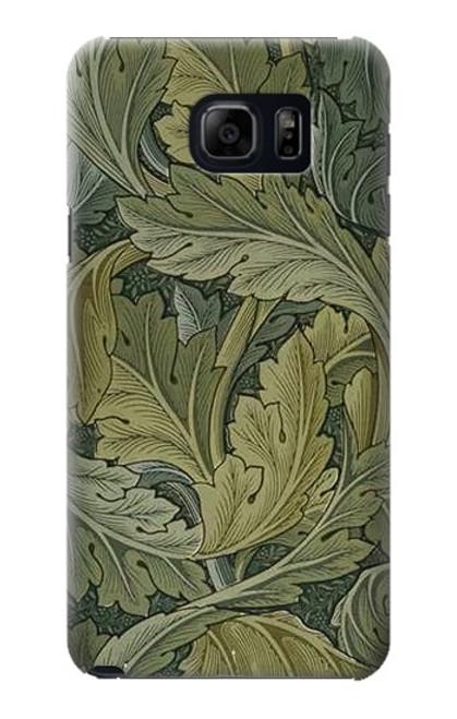 S3790 William Morris Acanthus Leaves Case For Samsung Galaxy S6 Edge Plus