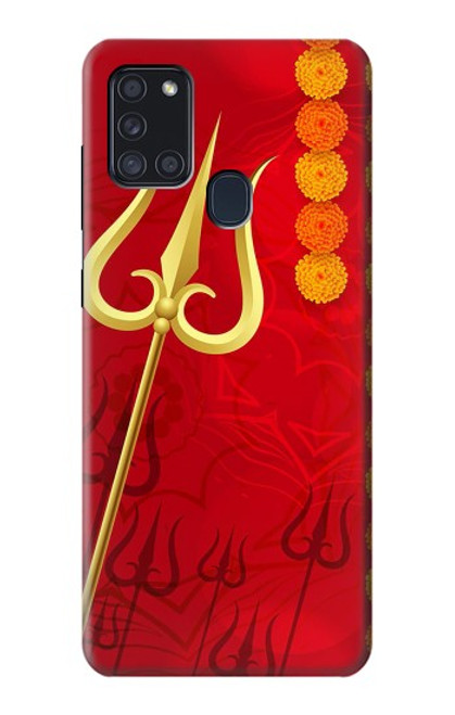 S3788 Shiv Trishul Case For Samsung Galaxy A21s
