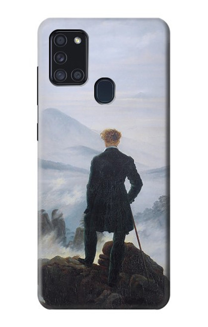 S3789 Wanderer above the Sea of Fog Case For Samsung Galaxy A21s