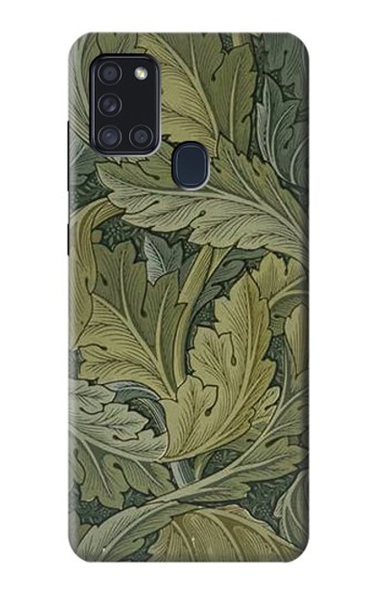 S3790 William Morris Acanthus Leaves Case For Samsung Galaxy A21s
