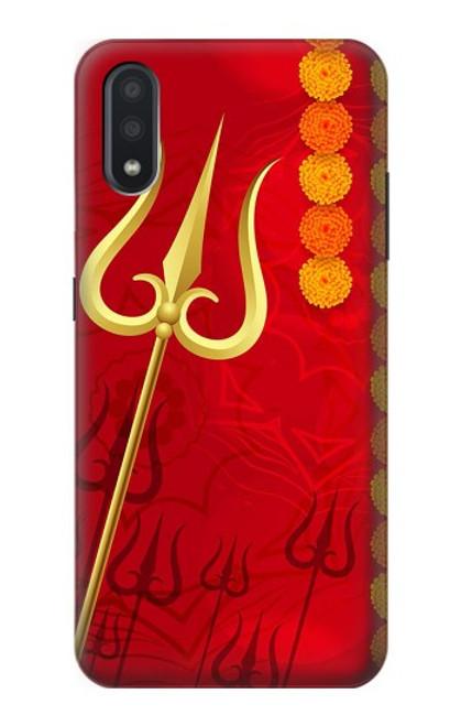 S3788 Shiv Trishul Case For Samsung Galaxy A01