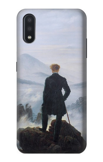 S3789 Wanderer above the Sea of Fog Case For Samsung Galaxy A01