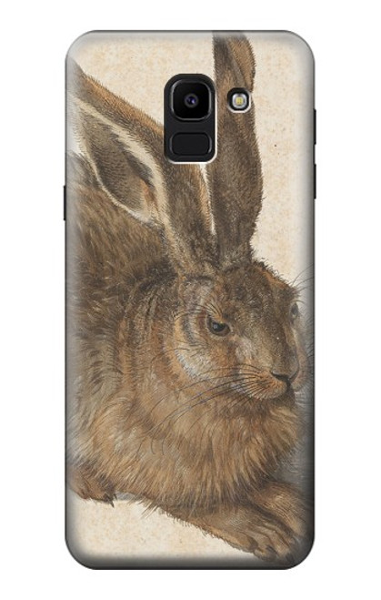 S3781 Albrecht Durer Young Hare Case For Samsung Galaxy J6 (2018)