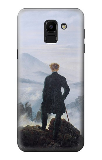 S3789 Wanderer above the Sea of Fog Case For Samsung Galaxy J6 (2018)
