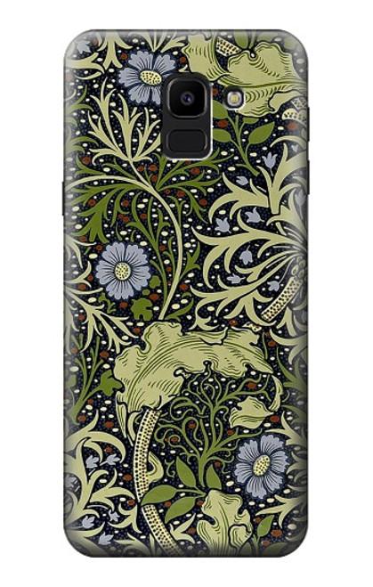 S3792 William Morris Case For Samsung Galaxy J6 (2018)