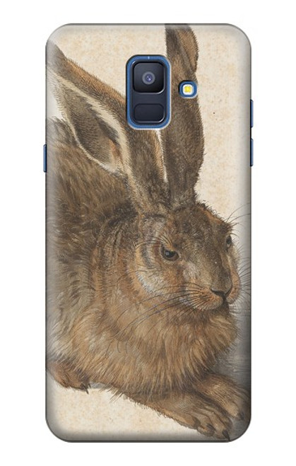 S3781 Albrecht Durer Young Hare Case For Samsung Galaxy A6 (2018)