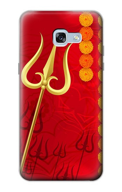 S3788 Shiv Trishul Case For Samsung Galaxy A5 (2017)
