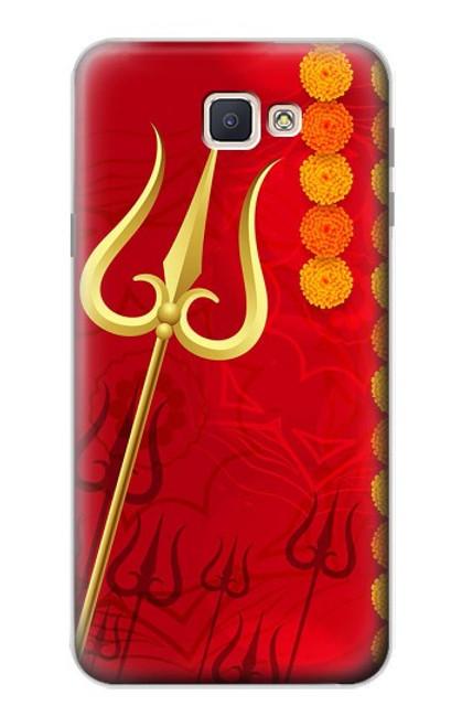 S3788 Shiv Trishul Case For Samsung Galaxy J7 Prime (SM-G610F)