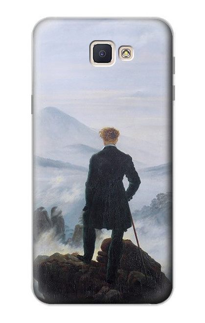 S3789 Wanderer above the Sea of Fog Case For Samsung Galaxy J7 Prime (SM-G610F)