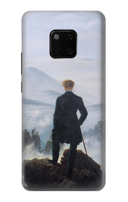 S3789 Wanderer above the Sea of Fog Case For Huawei Mate 20 Pro