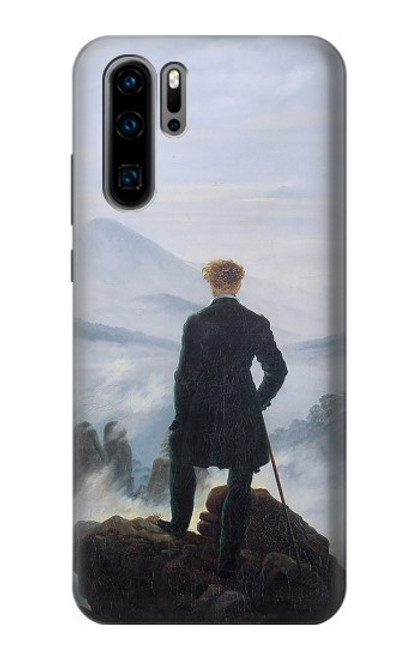 S3789 Wanderer above the Sea of Fog Case For Huawei P30 Pro
