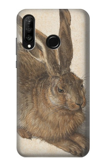S3781 Albrecht Durer Young Hare Case For Huawei P30 lite