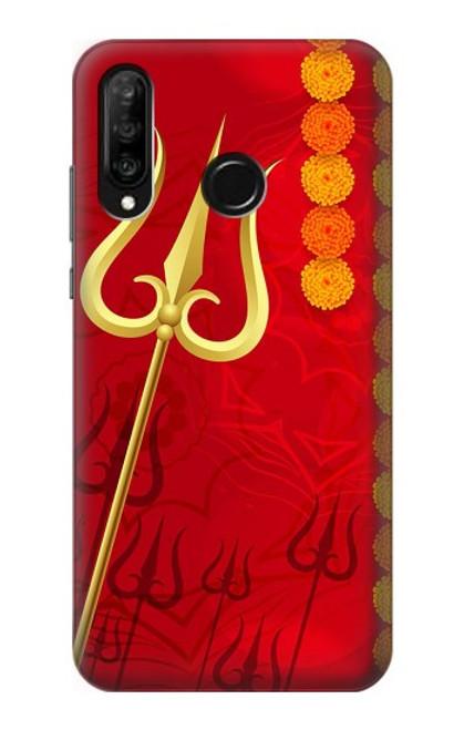 S3788 Shiv Trishul Case For Huawei P30 lite