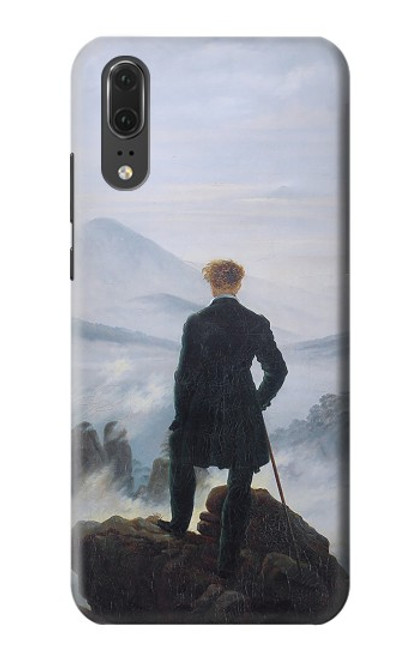 S3789 Wanderer above the Sea of Fog Case For Huawei P20