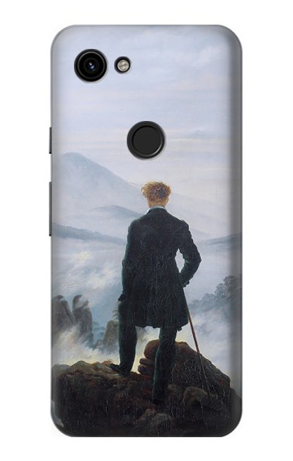 S3789 Wanderer above the Sea of Fog Case For Google Pixel 3a