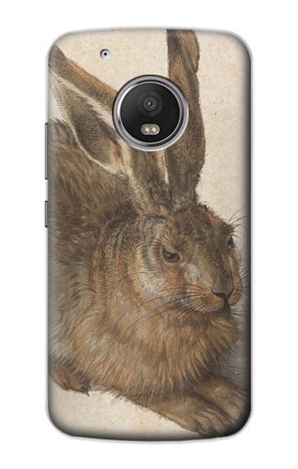 S3781 Albrecht Durer Young Hare Case For Motorola Moto G5 Plus