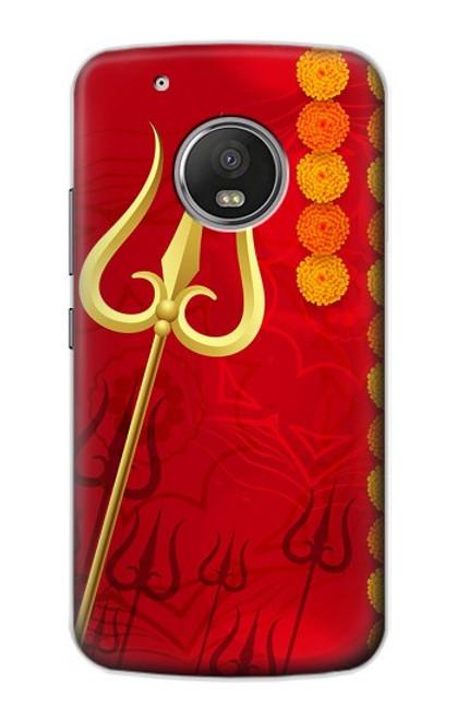 S3788 Shiv Trishul Case For Motorola Moto G5 Plus