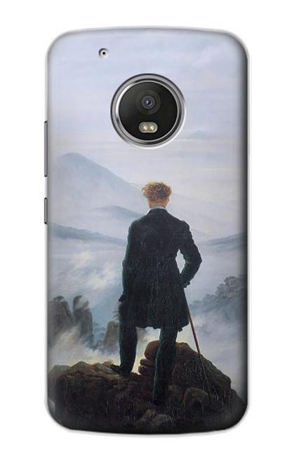 S3789 Wanderer above the Sea of Fog Case For Motorola Moto G5 Plus