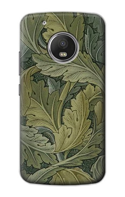 S3790 William Morris Acanthus Leaves Case For Motorola Moto G5 Plus