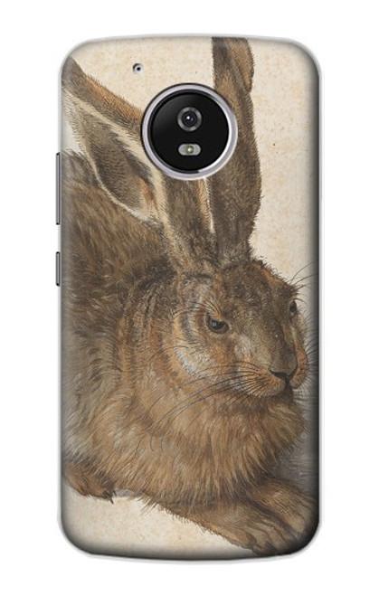 S3781 Albrecht Durer Young Hare Case For Motorola Moto G5