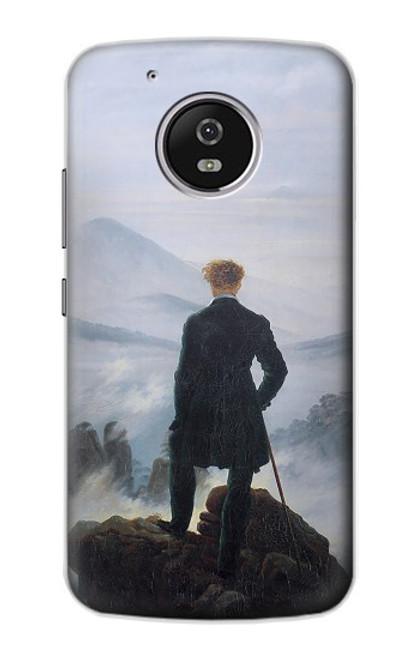 S3789 Wanderer above the Sea of Fog Case For Motorola Moto G5