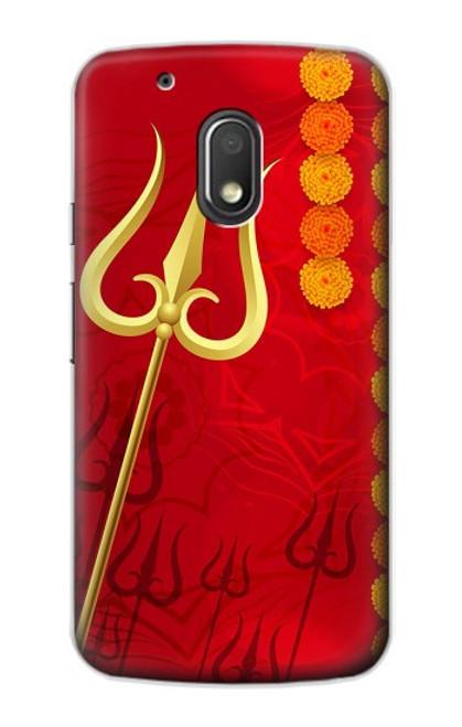S3788 Shiv Trishul Case For Motorola Moto G4 Play