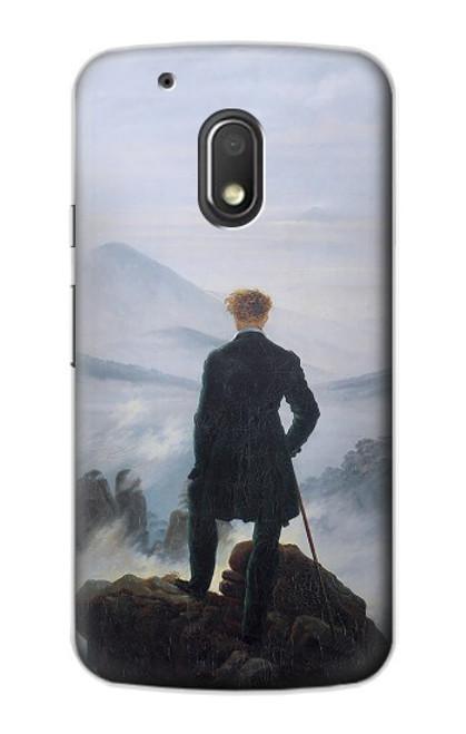 S3789 Wanderer above the Sea of Fog Case For Motorola Moto G4 Play