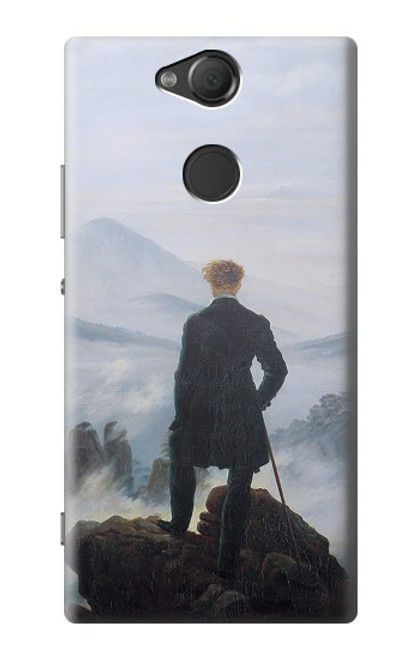 S3789 Wanderer above the Sea of Fog Case For Sony Xperia XA2