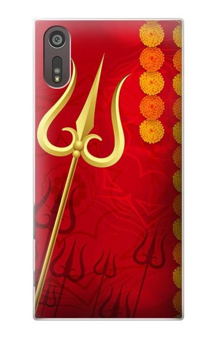 S3788 Shiv Trishul Case For Sony Xperia XZ