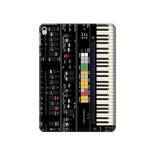 S0061 Synthesizer Hard Case For iPad Air 2, iPad 9.7 (2017,2018), iPad 6, iPad 5