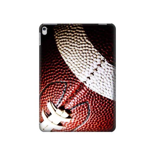 S0062 American Football Hard Case For iPad Air 2, iPad 9.7 (2017,2018), iPad 6, iPad 5
