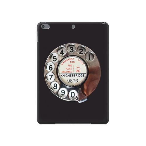S0059 Retro Rotary Phone Dial On Hard Case For iPad Air 3, iPad Pro 10.5, iPad 10.2 (2019,2020)