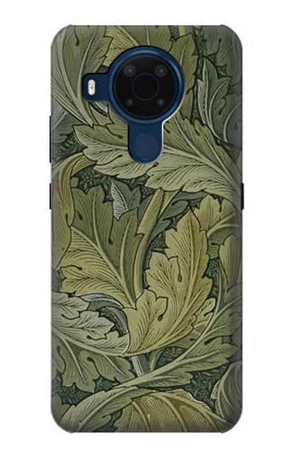 S3790 William Morris Acanthus Leaves Case For Nokia 5.4