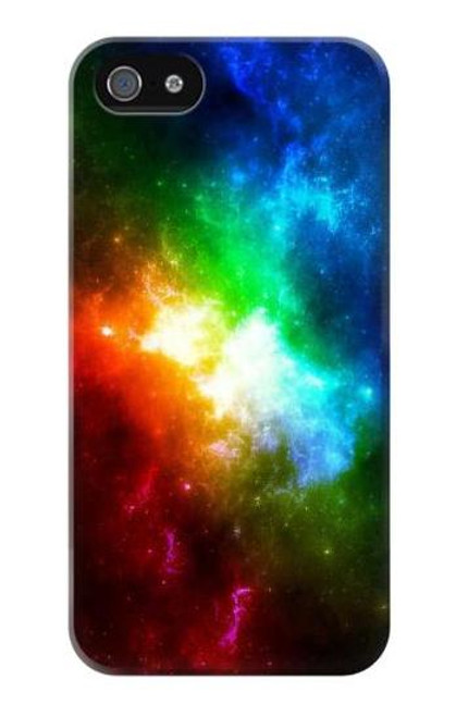 S2312 Colorful Rainbow Space Galaxy Case For iPhone 5 5S SE