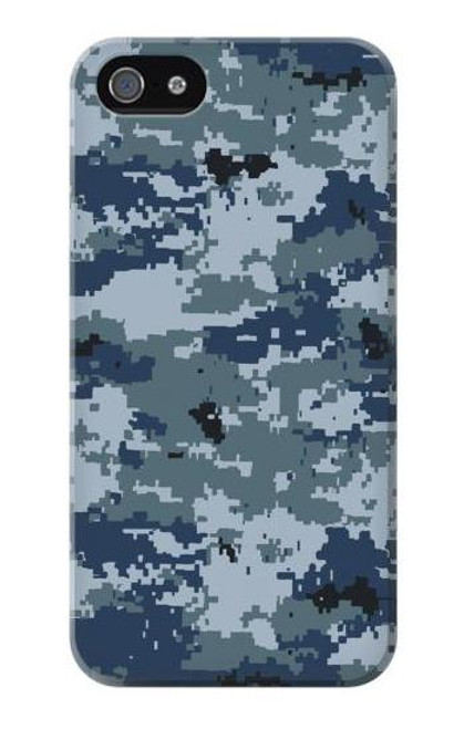 S2346 Navy Camo Camouflage Graphic Case For iPhone 5 5S SE