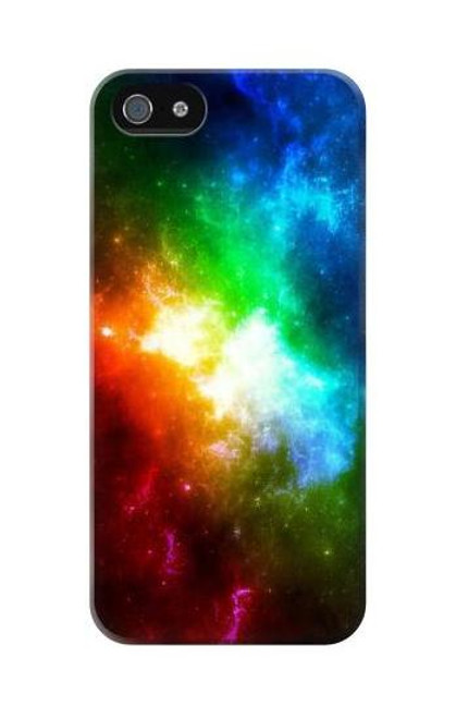S2312 Colorful Rainbow Space Galaxy Case For iPhone 5C